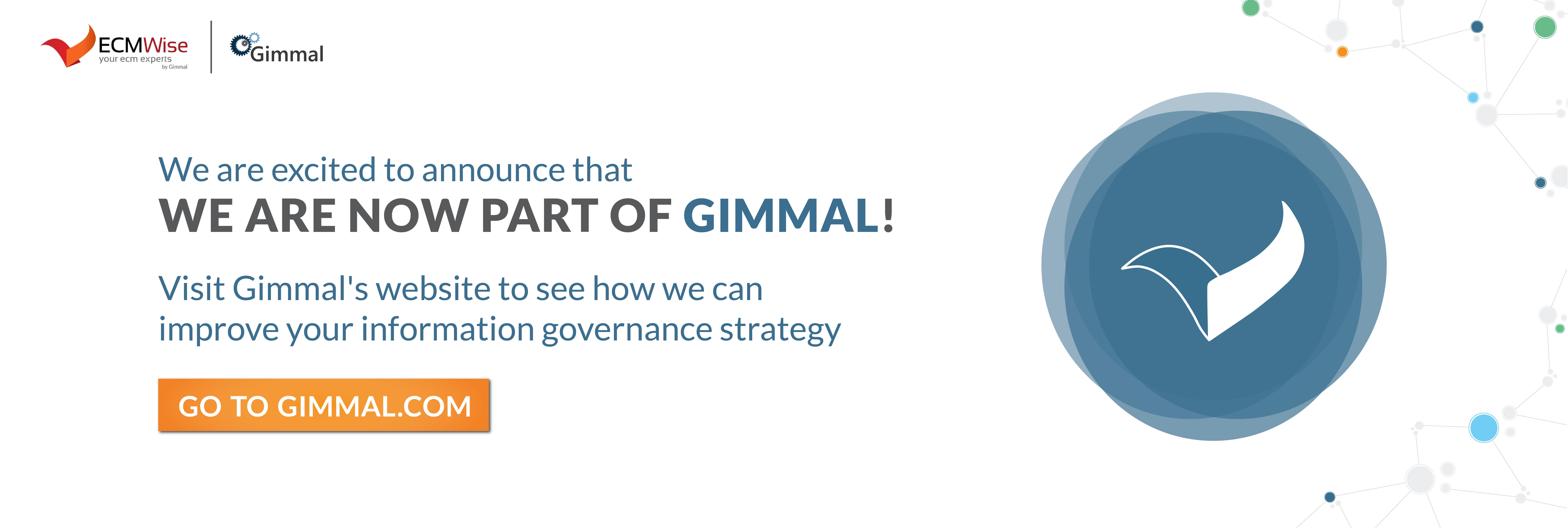ECM Wise is now a part of Gimmal